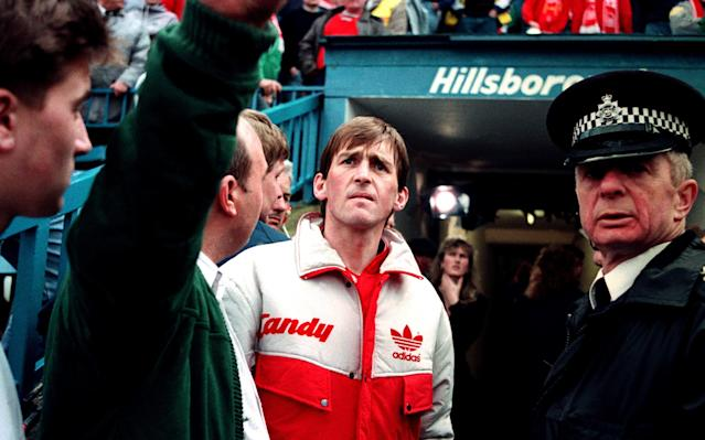 <span>Dalglish was a rock for the families and victims in the aftermath of the Hillsborough disaster</span> <span>Credit: PA </span>
