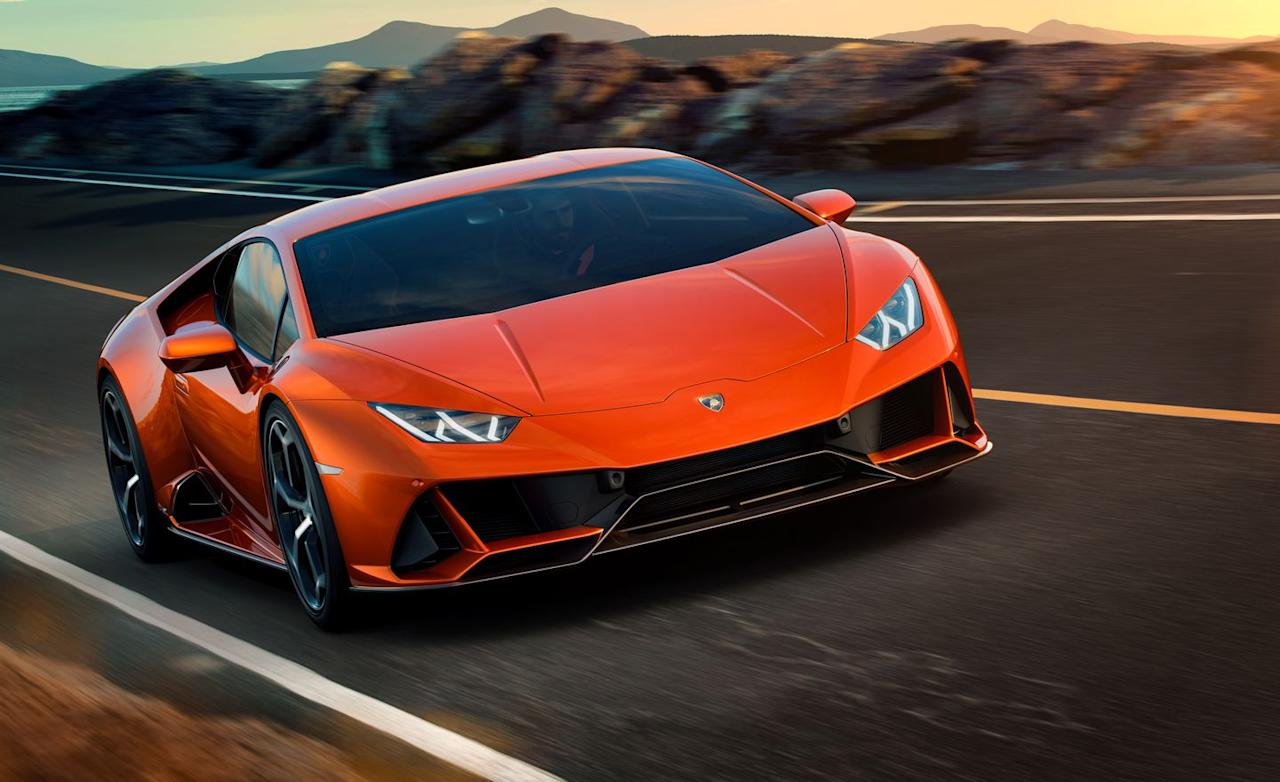 <p>Lamborghini instead focused its refresh of the Huracán on details such as the electronic chassis aids, aspects of the styling, and an improved interior.</p>
