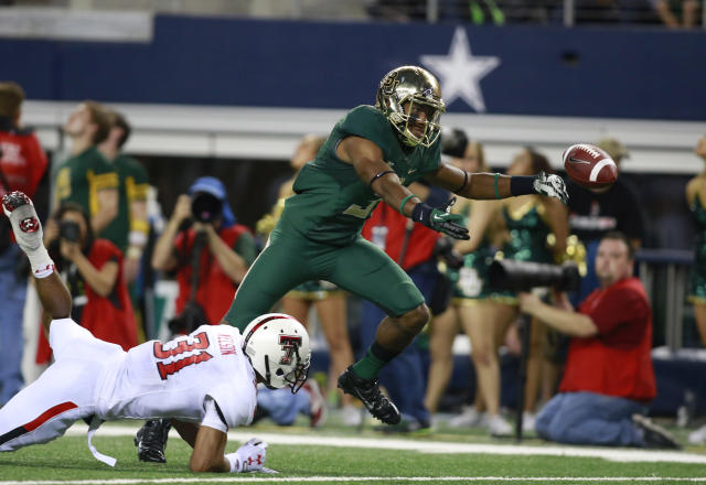 Baylor WR Robbie Rhodes arrested on marijuana and tampering charges