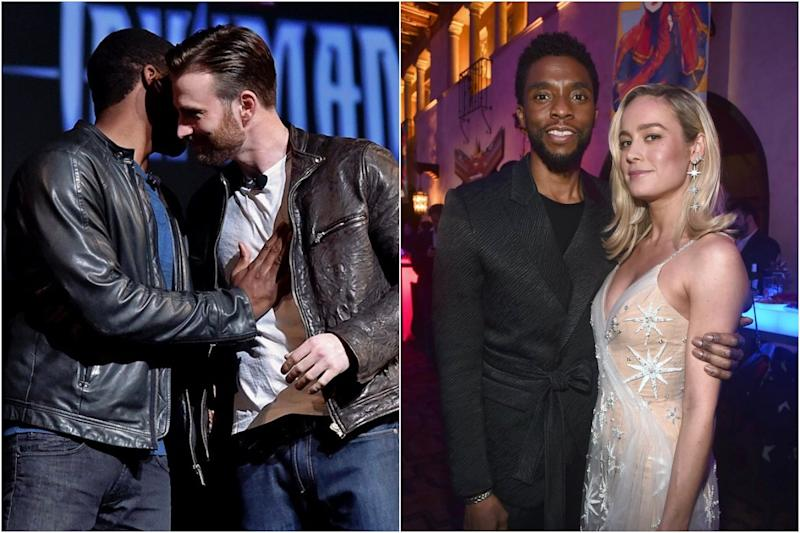 'Rest in Power King Chadwick Boseman': From Chris Evans to Mark Ruffalo, Avengers Assemble to Mourn the Loss