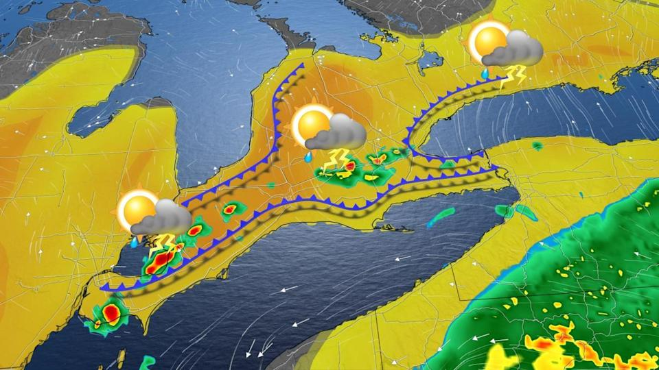 Tropical storm remnants fuel storm risk in Ontario and Quebec