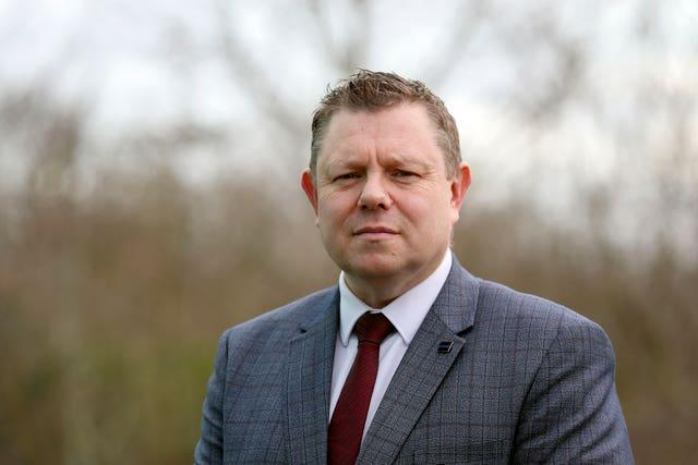 Chairman of the Police Federation of England and Wales John Apter has also expressed fury at the pay freeze