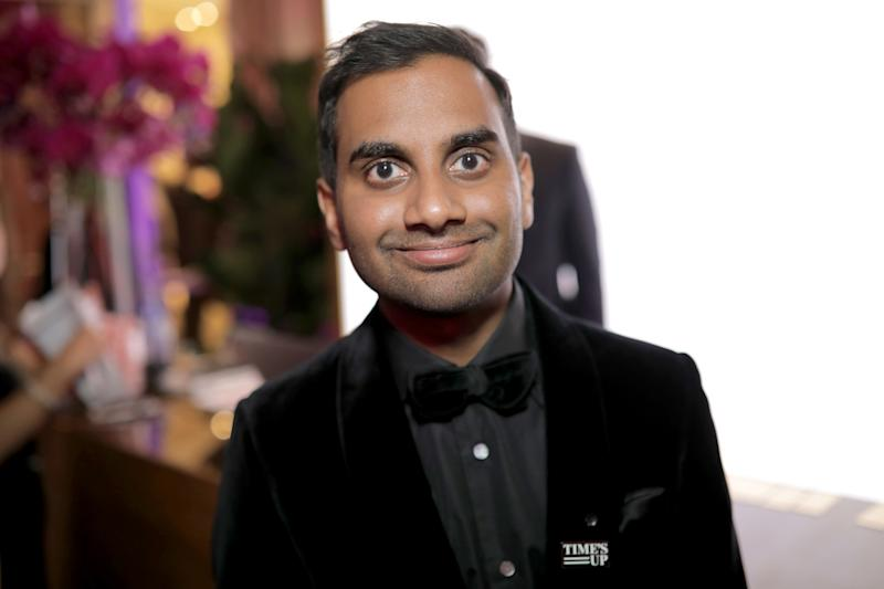 "Comedian Aziz Ansari responded to allegations of sexual assault in a statement released late Sunday, saying he believed an encounter last September was ""completely consensual."" (Greg Doherty via Getty Images)"