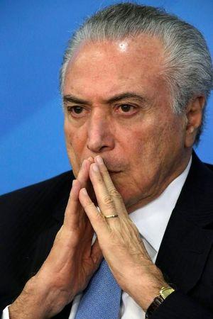 Presidente Michel Temer no Palácio do Planalto