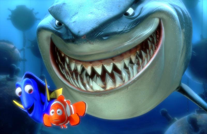 "FILE - In this promotional photo released by Disney Pixar Animation, Dory, lower left, and  Marlin, lower right, face an ocean full of perils in their efforts to rescue Nemo in this scene from Pixar Animation Studios :Finding Nemo.""  The Walt Disney Studios has announced limited theatrical engagements for four of its classic films for the first time in 3D. ""Beauty and the Beast,"" "" Finding Nemo,"" ""Monsters Inc.,"" and ""The Little mermaid,"" will be re-released in 3D in 2012-2013. (AP Photo/Pixar Animation Studios, File)"