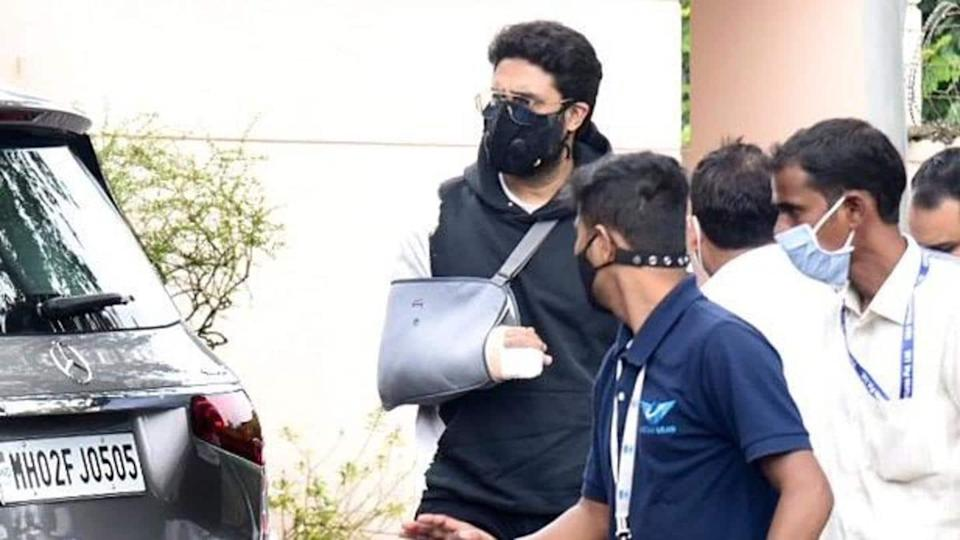 Abhishek Bachchan resumes work in Chennai right after undergoing surgery