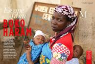 <br><b>SURVIVAL STORIES:</b> We talk to the brave women who escaped Boko Haram