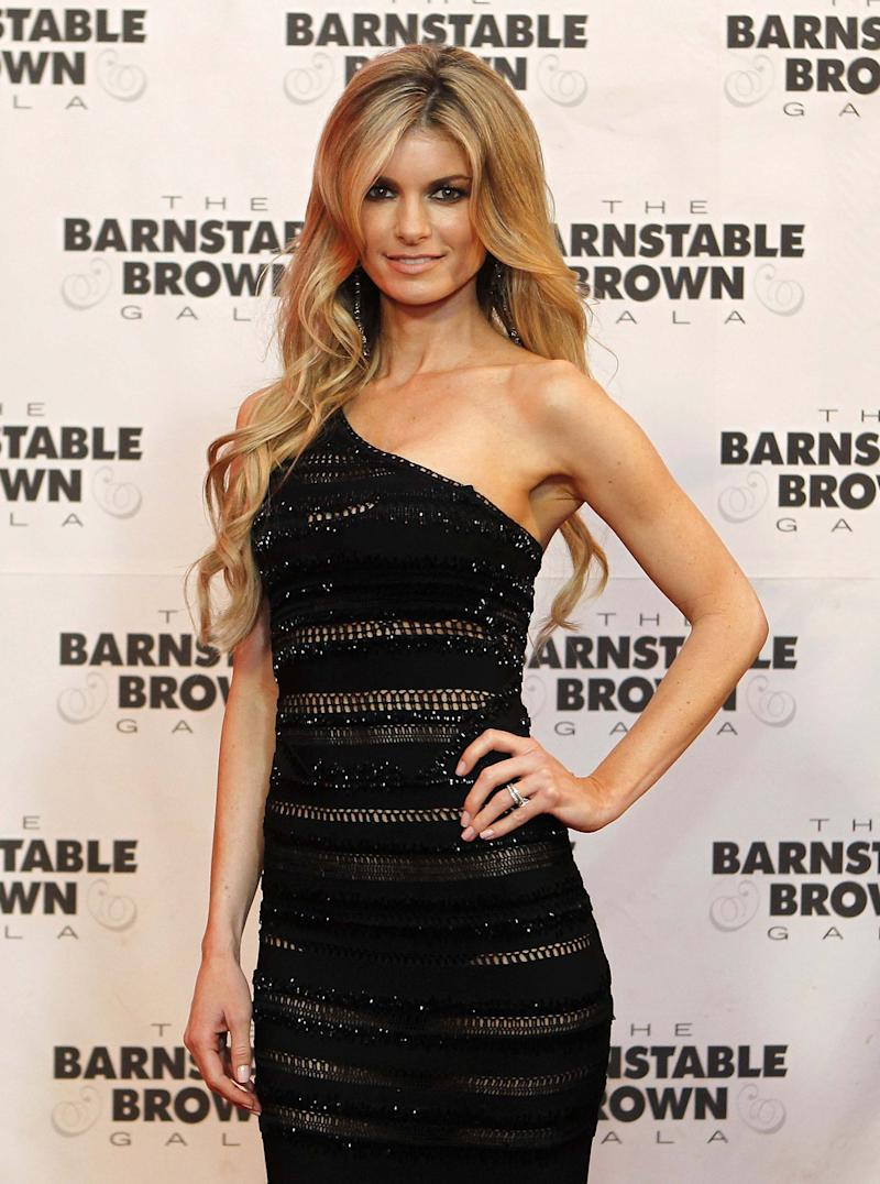 FILE - In this May 6, 2011 file photo, model Marisa Miller arrives at the Barnstable Brown Derby party in Louisville, Ky. Miller will be hosting the inaugural Call of Duty XP conference held Friday and Saturday, Sept. 2-3, 2011, at a sprawling hanger compound at Playa Vista, Calif. (AP Photo/Darron Cummings, file)