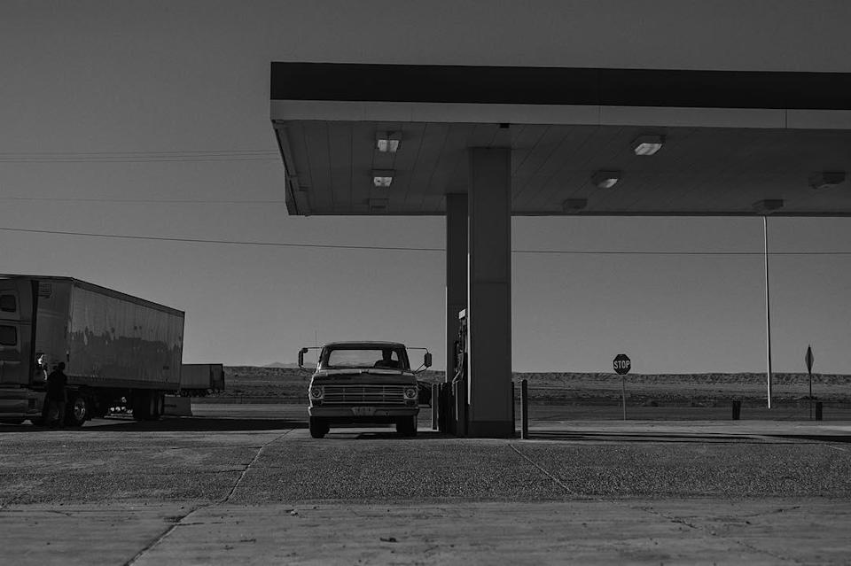 """<p>A car, a gas pump, a truck, and the wide open spaces over which fans can let their minds wander for clues in 'Rest Stop.' (Photo: <a rel=""""nofollow noopener"""" href=""""https://www.instagram.com/p/BLd1DL1D_rN/"""" target=""""_blank"""" data-ylk=""""slk:wponx/Instagram"""" class=""""link rapid-noclick-resp"""">wponx/Instagram</a>) </p>  <p>Meet the Bad Guy</p><p> Here's the first image of Boyd Holbrook's character, with the one-word caption """"Pierce."""" This appears to confirm that Holbrook (best known for Netflix series <i>Narcos</i>) will be playing 1980s Marvel Comics villain Donald Pierce, described by <a rel=""""nofollow noopener"""" href=""""http://collider.com/wolverine-3-logan-villain-revealed-boyd-holbrook/#images"""" target=""""_blank"""" data-ylk=""""slk:Collider"""" class=""""link rapid-noclick-resp""""><i>Collider</i></a> as """"a mutant-hating genocidal maniac."""" (Photo: wponx/Instagram) </p>  <p>Reservation Road?</p><p> This gritty, noir-ish shot of a motel sign reflected on the pavement sets a mood, and has fans searching for clues about the film, which takes place in the future. (Photo: wponx/Instagram) </p>  <p>Aviso</p><p> A sign that warns against trespassers or loiterers, posted in Spanish, hints at a new location for the action in the third Wolverine film. (Photo: wponx/Instagram) </p>  <p>A Disarming Image</p><p> A severed hand in the dirt, fingers still curled tightly around a gun, is captioned """"Aftermath."""" (Photo: wponx/Instagram) </p>  <p>The Old Professor</p><p> Charles Xavier, mentor of the X-Men, was an old man in the first film; in this new image, Patrick Stewart's character is approaching ancient. (Photo: wponx/Instagram) </p>  <p>Read It and Weep for Logan</p><p> Page two of the 'Logan' screenplay, tweeted out by Mangold, describes an aging, depressed Wolverine: """"He's older now and it's clear his abilities aren't what they once were. He's fading on the inside and his diminished healing factor keeps him in a constant state of chronic pain — hence booze as a painkiller."""" (Photo: wponx/Instagram) <"""
