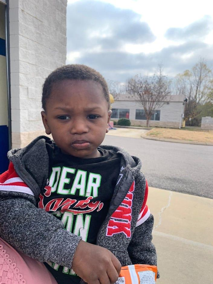 Southaven police are seeking information about a two-year-old's identity after the child was dropped off at a Goodwill donation center on Stateline Road.  Anyone with information about the child is asked to call Southaven detectives at 662-393-8652.