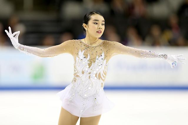 <p>The 18-year-old 2017 U.S. national champion and first-time Olympian aims to make her mark for Team USA at the Winter Games. Chen narrowly missed out on a medal at the 2017 World Championships where she finished fourth. </p>
