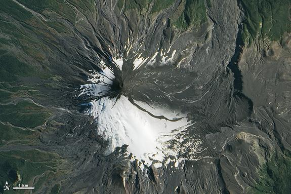 Chilean Volcano Coated in Ash After Eruption, New Images Show