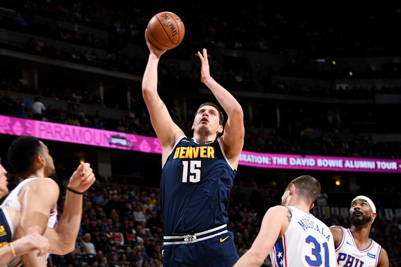 Jokic returns to lead Nuggets past 76ers 126-110