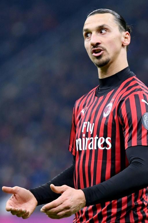 Zlatan Ibrahimovic's AC Milan host Torino after their derby defeat (AFP Photo/Alberto PIZZOLI)