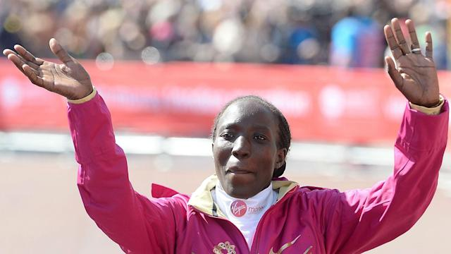 Geoffrey Kirui and Edna Kiplagat as Kenyans dominated at the Boston Marathon, where there was a strong showing from the home contingent.