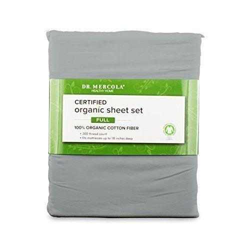 """Get them on <a href=""""https://www.amazon.com/s/ref=nb_sb_noss?url=search-alias%3Dgarden&field-keywords=dr+mercola+organic+cotton+sheets"""" target=""""_blank"""">Amazon starting at $55</a>."""