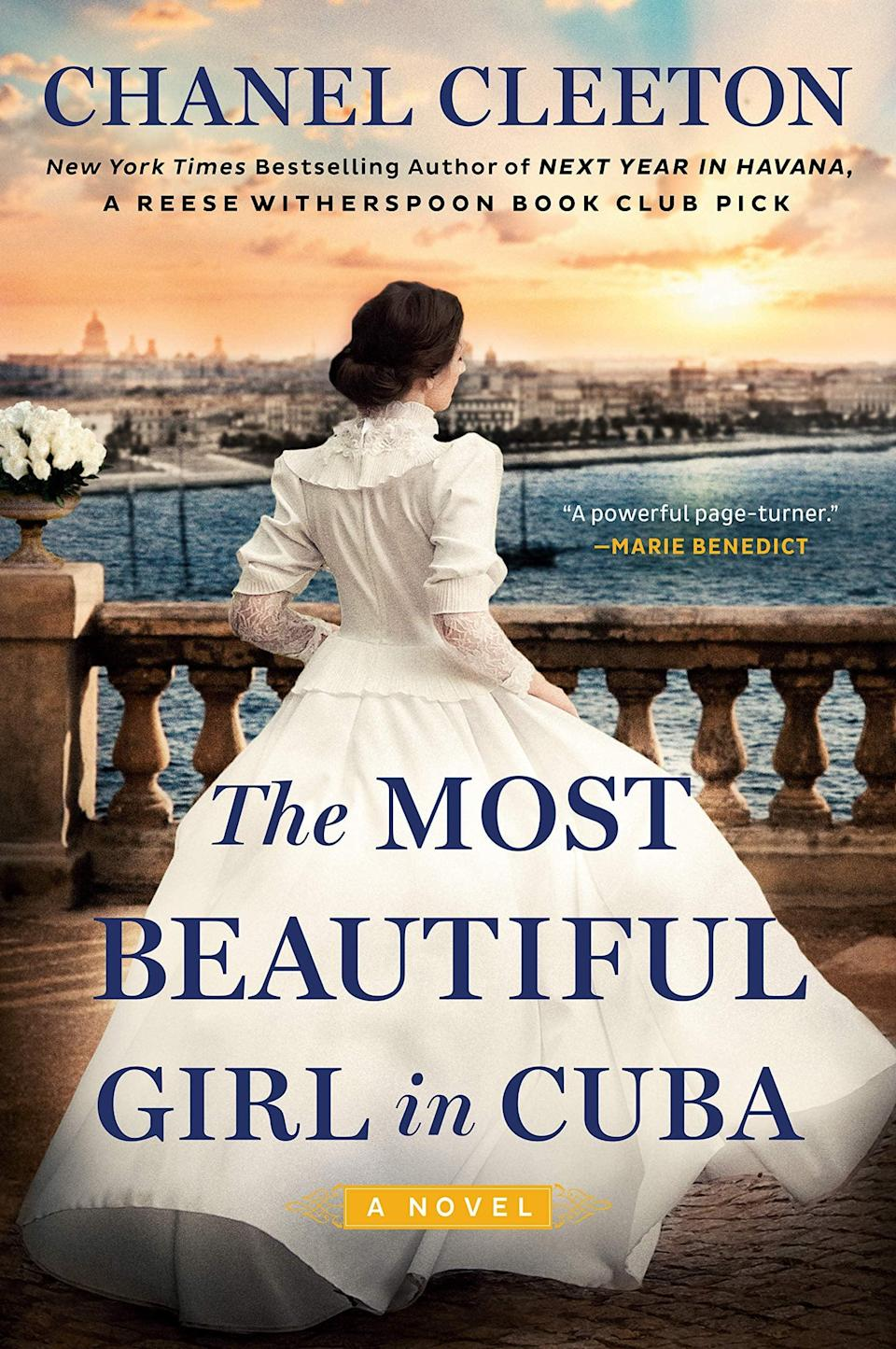 <p><span><strong>The Most Beautiful Girl in Cuba</strong></span> is another riveting historical-fiction novel by Chanel Cleeton. In 1896, Grace Harrington's job at William Randolph Hearst's newspaper leads to her becoming embroiled in Cuba's quest for independence when she writes a story about Evangelina Cisneros, an 18-year-old who is imprisoned for fighting for Cuban independence. Soon, Grace's story becomes more than just a scoop for the paper; it becomes a quest to free Evangelina and encourage America to help Cuba in its war with Spain. </p> <p><em>Out May 4</em></p>