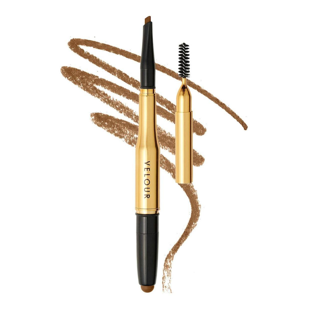 To create fuller-looking brows, Thorp uses Velour Lashes 3-in-1 Fluff'n Brow Pencil and Balm. (Photo: Sephora)