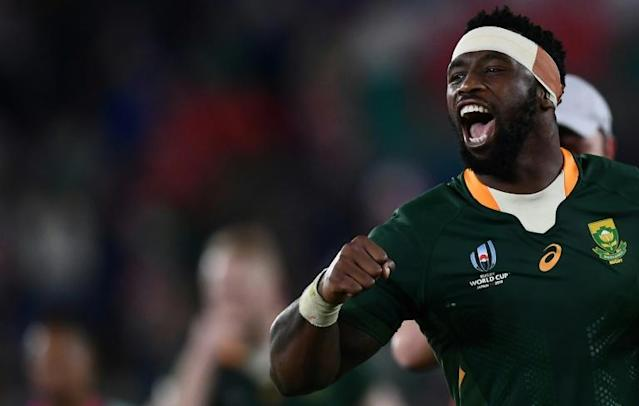 Siya Kolisi admitted the pressure of being captain had got to him at first (AFP Photo/CHARLY TRIBALLEAU)