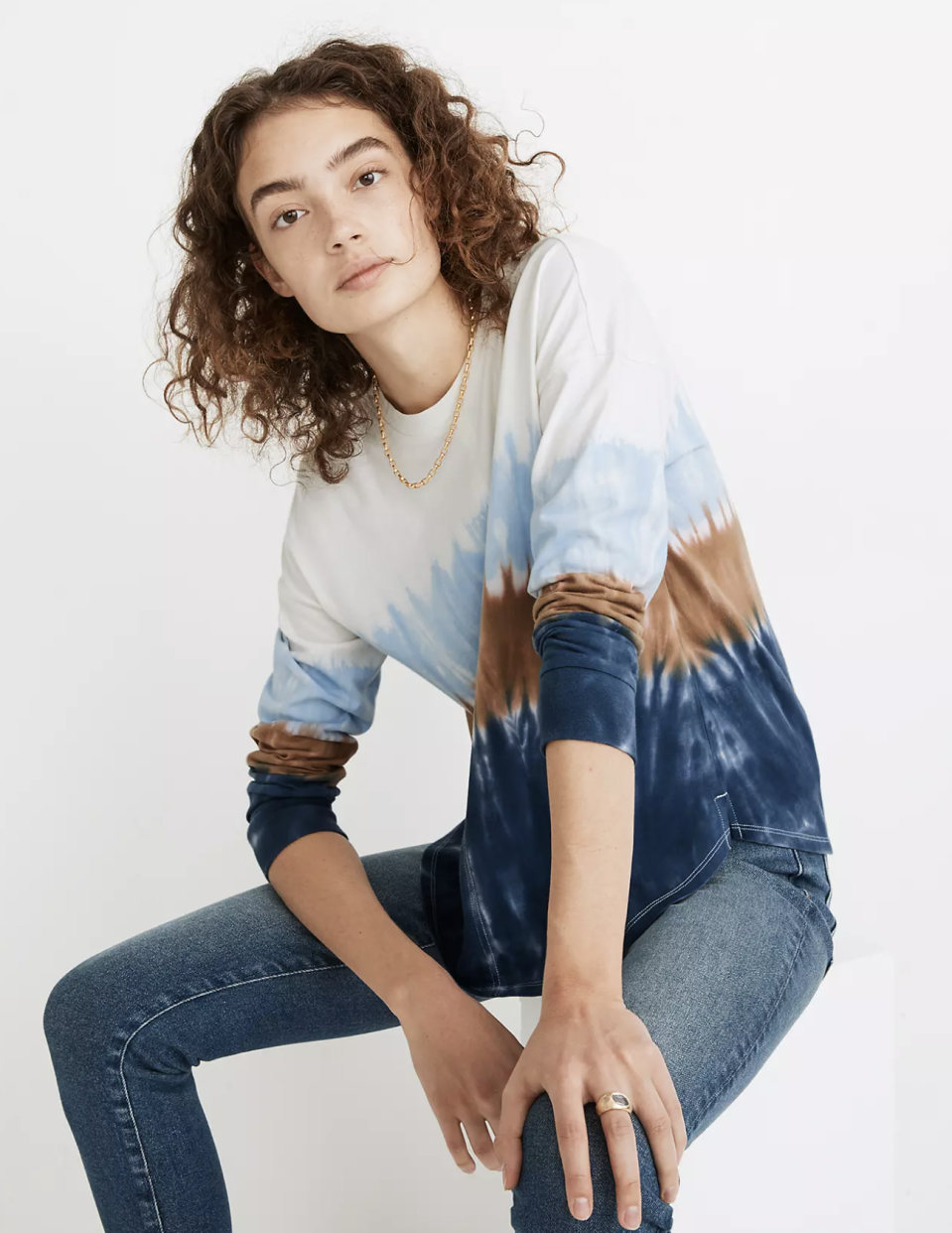 """<p><strong>Madewell</strong></p><p>madewell.com</p><p><strong>$55.00</strong></p><p><a href=""""https://go.redirectingat.com?id=74968X1596630&url=https%3A%2F%2Fwww.madewell.com%2Ftie-dye-newville-tee-MC228.html&sref=https%3A%2F%2Fwww.seventeen.com%2Ffashion%2Fg34644503%2Fmadewell-black-friday-sales-2020%2F"""" rel=""""nofollow noopener"""" target=""""_blank"""" data-ylk=""""slk:Shop Now"""" class=""""link rapid-noclick-resp"""">Shop Now</a></p><p>Do I need more tie-dye? No. Do I <em>want </em>more tie-dye? Absolutely, yes.</p>"""