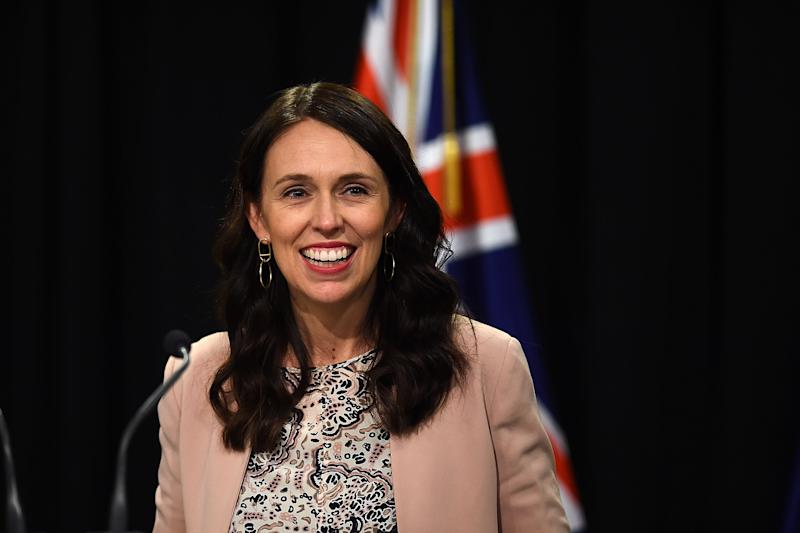 Jacinda Ardern's leadership has been internationally recognised, especially following tragic events in New Zealand such as the Christchurch massacre and December's volcano eruption. Source: Getty