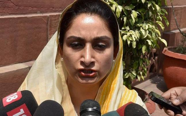 Rahul Gandhi's failure to deliver lead to loss of food plant in Amethi, says Harsimrat Kaur Badal