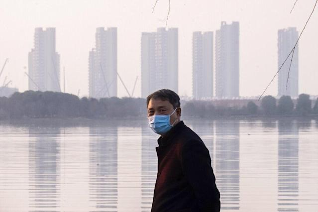 <p>China flying home residents of virus-afflicted region</p>