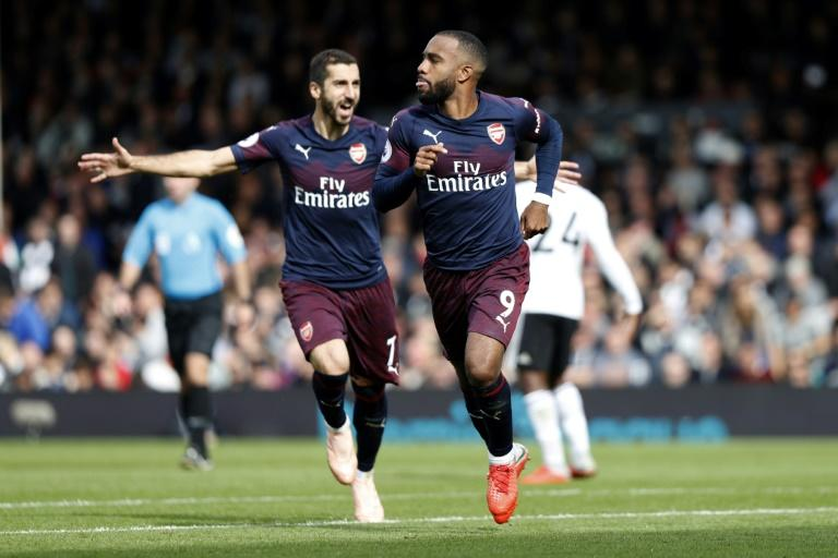 Alexandre Lacazette and his Arsenal team-mates face a hectic week