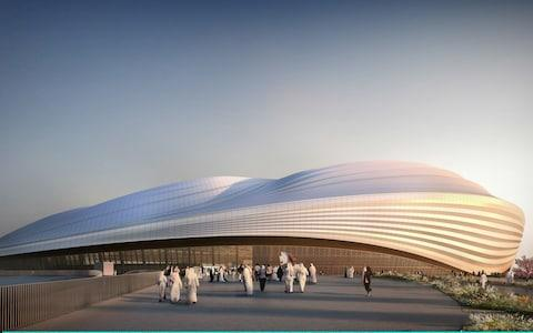 Plans for Al Wakrah Stadium, where Qatar will host the FIFA World Cup in 2022 - Credit: Getty Images Europe