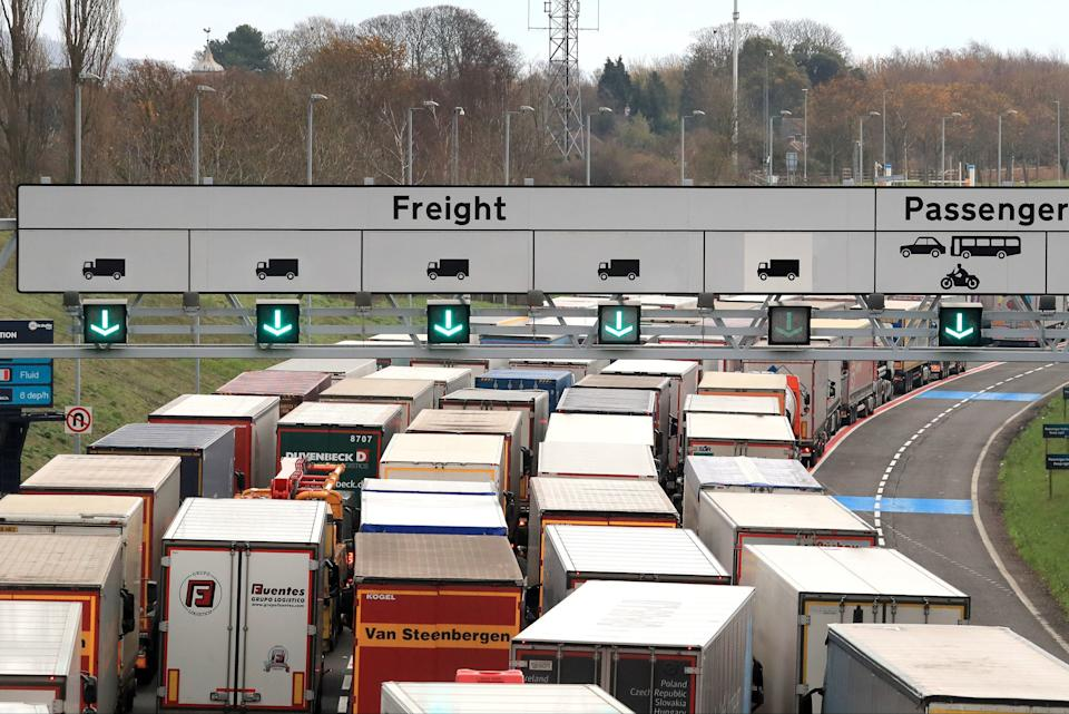<p>It is understood the backlog was caused by French border police trialling new immigration checks</p>PA