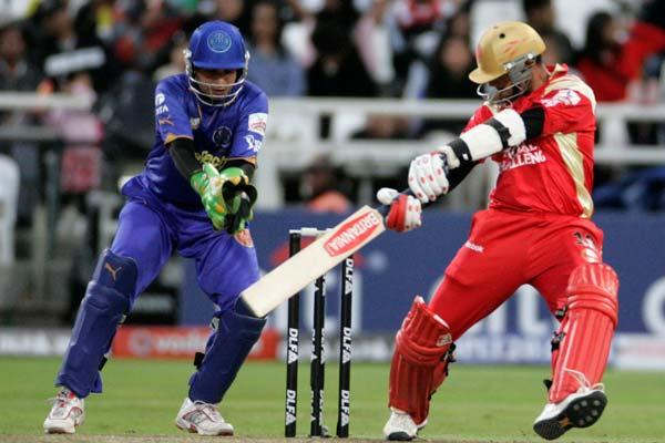 Rahul played the first 3 seasons of the IPL for his home side Royal Challengers Bangalore. In the first season he was their 'Icon Player'.  Season 4 saw him go up for auction again, where he was purchased by Rajasthan Royals.