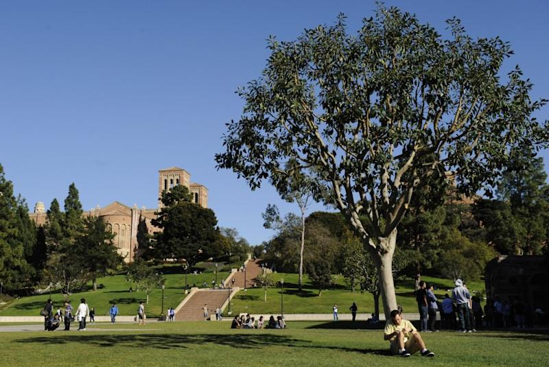 The UCLA campus.