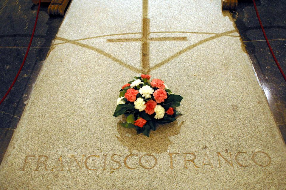 But Franco is buried there too - Credit: ALAMY