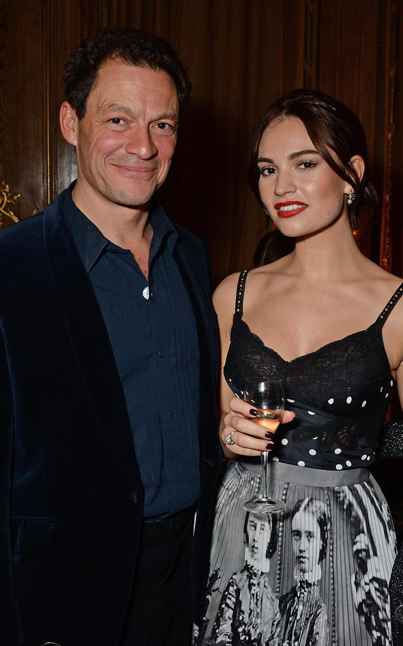 Lily and Dominic West made headlines last week after being photographed enjoying a romantic weekend in Italy, despite the fact the actor is married. Photo: Getty