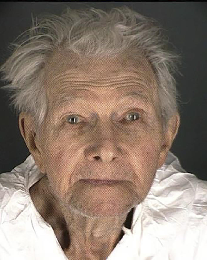 This booking provided by the Boulder County Sheriff's Office shows Okey Payne. Police say Payne, 95, and accused of shooting and killing a maintenance worker at his assisted living center, said he was tired of staffers stealing money from him and decided to shoot the man to stop the thefts. A court document released Thursday, Feb. 4, 2021, reported Payne told police he confronted Ricardo Medina-Rojas on Wednesday about $200 he said was missing from his wallet and shot him once in the head. (Boulder County Sheriff's Office via AP)