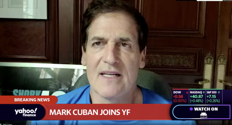 "Mavericks owner Mark Cuban set to appear on Wednesday on ""Reset Your Mind at Work,"" a Yahoo! special made in partnership with Fortune."