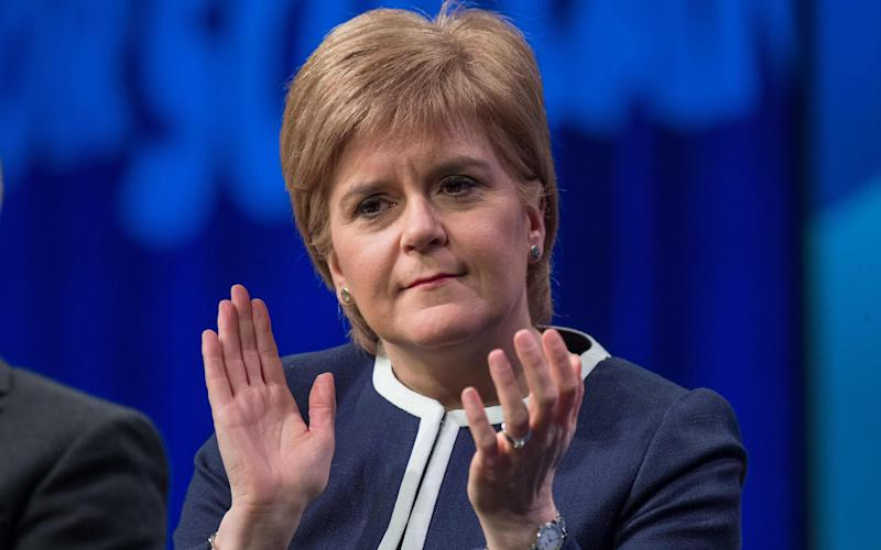 Nicola Sturgeon has tabled a motion asking for permission to request another independence referendum - AFP or licensors