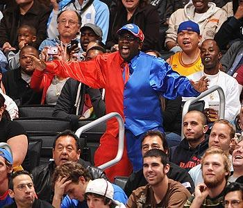 Bailey has been a vocal supporter at Clippers games for years, back when the franchise ranked among the worst in all of sports