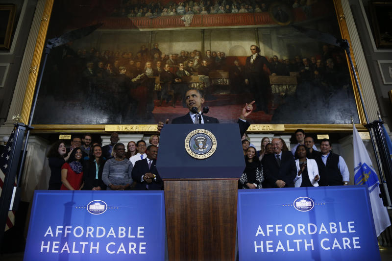 Obama's health law finally gets real for America