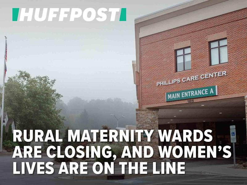 Rural Maternity Wards Are Closing, And Women's Lives Are On The Line