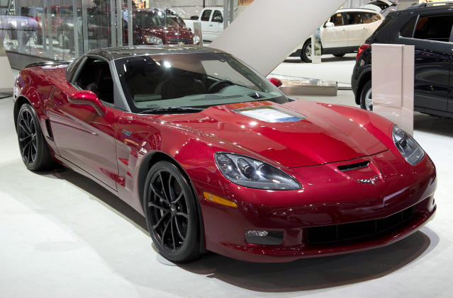 <p>A Chevrolet Corvette ZR1 at the Canadian International Auto Show in Toronto on February 14, 2013THE CANADIAN PRESS/Frank Gunn</p>