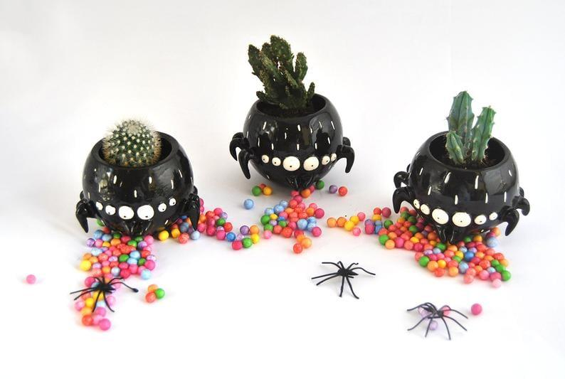 "<p>All eyes on this <a href=""https://www.popsugar.com/buy/Black-Spider-Bowl-498554?p_name=Black%20Spider%20Bowl&retailer=etsy.com&pid=498554&price=39&evar1=casa%3Aus&evar9=46721965&evar98=https%3A%2F%2Fwww.popsugar.com%2Fhome%2Fphoto-gallery%2F46721965%2Fimage%2F46722055%2FBlack-Spider-Bowl&prop13=api&pdata=1"" rel=""nofollow"" data-shoppable-link=""1"" target=""_blank"" class=""ga-track"" data-ga-category=""Related"" data-ga-label=""https://www.etsy.com/listing/648464461/charlotte-the-black-spider-bowl-special?ref=dflc_1_1"" data-ga-action=""In-Line Links"">Black Spider Bowl</a> ($39, originally $43)! Could it be any cuter?</p>"