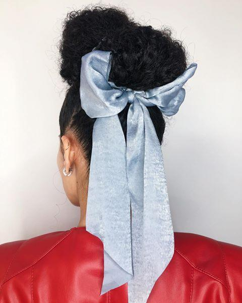 """<p>Speaking of silk! While spring, summer, and fall were all good times to experiment with different textiles and lighter fabrics, <strong>winter is the time to revisit the classic satin or silk hair bow</strong> for all the same reasons mentioned above (hope you were paying attention).</p><p><a href=""""https://www.instagram.com/p/B-cmkqHlfoL/?utm_source=ig_embed&utm_campaign=loading"""" rel=""""nofollow noopener"""" target=""""_blank"""" data-ylk=""""slk:See the original post on Instagram"""" class=""""link rapid-noclick-resp"""">See the original post on Instagram</a></p>"""