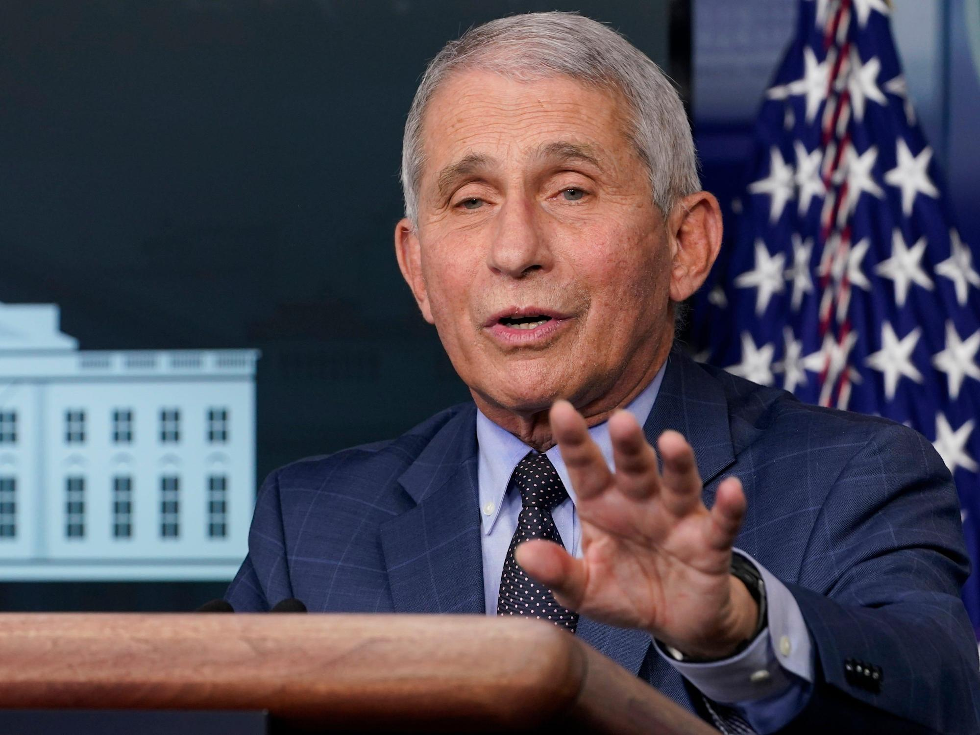 Fauci brushes off GOP criticism and says attacks on him are 'attacks on science' he can debunk 'immediately'