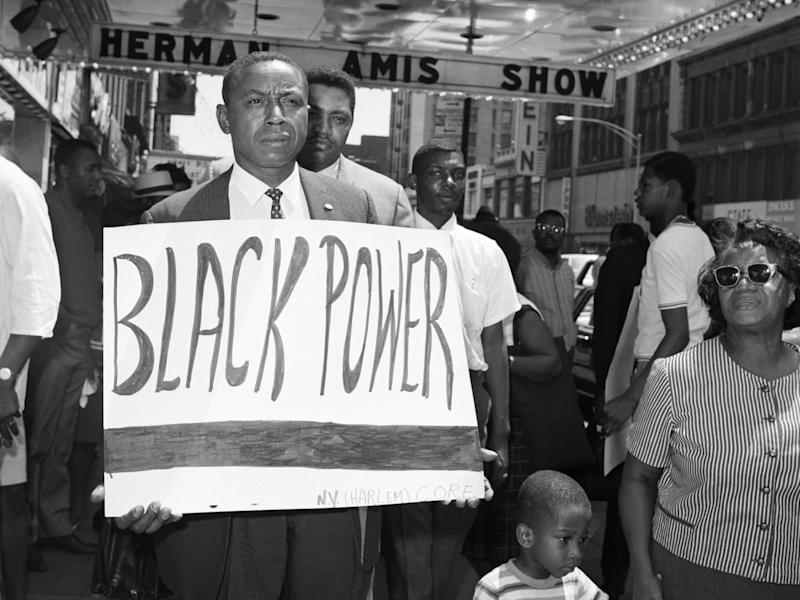 civil rights protest 1960s black power