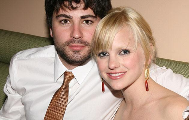 Anna Faris and her first husband, Ben Indra. Source: Getty