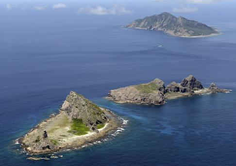 A 2012 picture of the islands. Photo: Kyodo