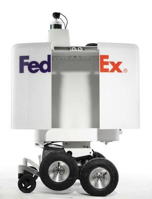 Pizza Hut and FedEx collaborate to test the future of pizza delivery with the FedEx SameDay Bot.