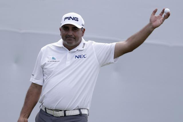 Good omen for Argentina in World Cup? Countryman Angel Cabrera wins first PGA event since 2009