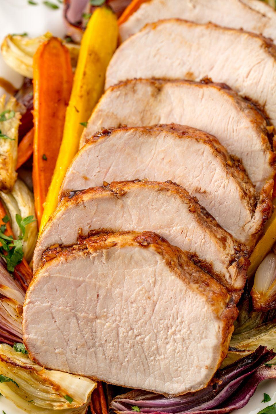 """<p>Set it and forget it while you cook the rest of your holiday meal.</p><p>Get the recipe from <a href=""""https://www.delish.com/cooking/recipe-ideas/recipes/a54791/crock-pot-pork-roast-recipe/"""" rel=""""nofollow noopener"""" target=""""_blank"""" data-ylk=""""slk:Delish"""" class=""""link rapid-noclick-resp"""">Delish</a>. </p>"""